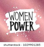 vector illustration of woman... | Shutterstock .eps vector #1029901285