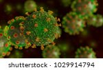 virus  bacteria  infection ... | Shutterstock . vector #1029914794