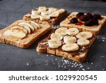 delicious sandwiches with... | Shutterstock . vector #1029920545