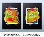 Abstract Vector Illustration. A ...