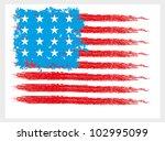 american flag | Shutterstock .eps vector #102995099
