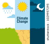 climate change banners... | Shutterstock .eps vector #1029957295
