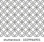 seamless vector pattern in... | Shutterstock .eps vector #1029966901