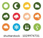 weather icons set | Shutterstock .eps vector #1029974731