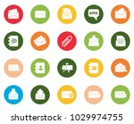 mail icons set | Shutterstock .eps vector #1029974755