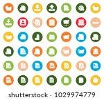 file icons set | Shutterstock .eps vector #1029974779