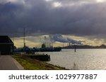 new waterway holland  | Shutterstock . vector #1029977887