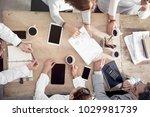 working business meeting concept | Shutterstock . vector #1029981739