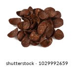 chocolate corn flakes | Shutterstock . vector #1029992659
