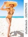 blue sea  white sand paradise.... | Shutterstock . vector #1029994705