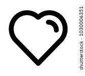 heart lover romance  | Shutterstock .eps vector #1030006351
