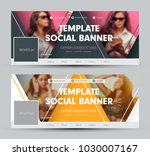 design of a cover for social... | Shutterstock .eps vector #1030007167