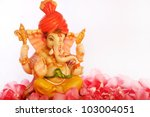 hindu god ganesha | Shutterstock . vector #103004051