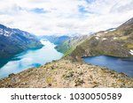 young women hiking on...   Shutterstock . vector #1030050589