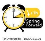 summer time. daylight saving... | Shutterstock . vector #1030061101