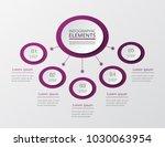 vector business template for... | Shutterstock .eps vector #1030063954