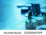 finance and investment concept... | Shutterstock . vector #1030069549