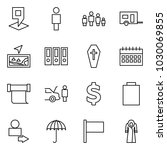 flat vector icon set   map pin... | Shutterstock .eps vector #1030069855