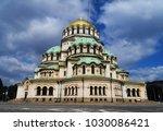 alexander nevsky cathedral | Shutterstock . vector #1030086421