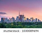 Sunset Over Toronto City...