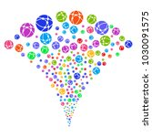 multicolored web browser...   Shutterstock .eps vector #1030091575