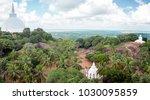 aradhana gala rock overlooks... | Shutterstock . vector #1030095859