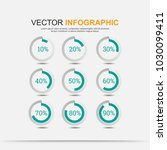 infographic elements chart... | Shutterstock .eps vector #1030099411