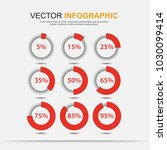 infographic elements chart... | Shutterstock .eps vector #1030099414