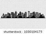 city silhouette. cityscape ... | Shutterstock . vector #1030104175