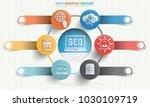 search engine optimisation info ... | Shutterstock .eps vector #1030109719