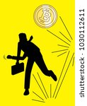 an illustration of businessman... | Shutterstock .eps vector #1030112611