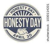 honesty day  april 30  rubber...   Shutterstock .eps vector #1030114201