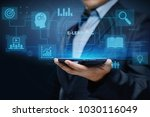 e learning education internet... | Shutterstock . vector #1030116049