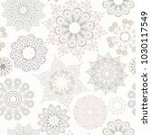 ornate floral seamless texture  ... | Shutterstock .eps vector #1030117549