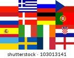 16 euronation for background...   Shutterstock . vector #103013141