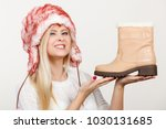 shoes for cold days ideas ... | Shutterstock . vector #1030131685