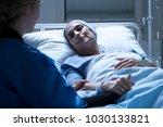 family member taking care of a... | Shutterstock . vector #1030133821