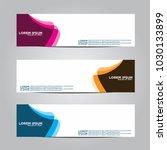 banner background.modern vector ... | Shutterstock .eps vector #1030133899