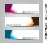 banner background.modern vector ... | Shutterstock .eps vector #1030133905