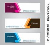 banner background.modern vector ... | Shutterstock .eps vector #1030134019