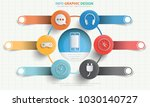 media info graphic design | Shutterstock .eps vector #1030140727