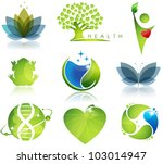 stunning health care and... | Shutterstock .eps vector #103014947