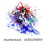 vector color illustration of a... | Shutterstock .eps vector #1030154854