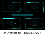 hud futuristic user screen...