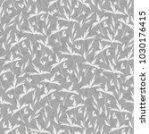 trendy seamless floral print.... | Shutterstock .eps vector #1030176415