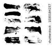 big black abstract textured... | Shutterstock .eps vector #1030184257
