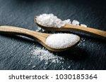 different types of salt. sea... | Shutterstock . vector #1030185364