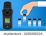 turbidity meter unit fnu ntu... | Shutterstock .eps vector #1030200214