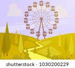 vector illustration of big...   Shutterstock .eps vector #1030200229