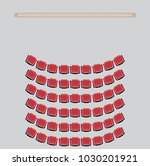 top view show seat in the... | Shutterstock .eps vector #1030201921